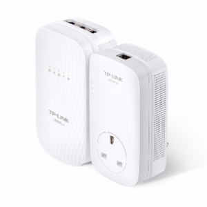 TP-Link WPA8730KIT HP Wireless AC1750 Dual Band WiFi Powerline Homeplug