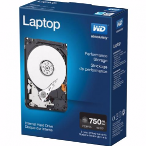 WD  750GB Black 7200RPM 2.5