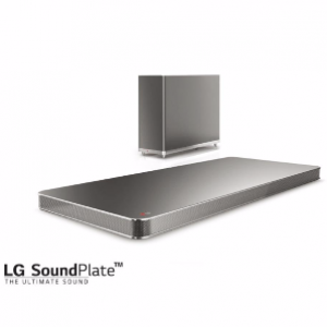 LG LAP400 320W 4.1 SoundPlate Wireless Subwoofer
