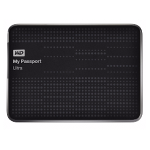 WD 2TB My Passport Ultra External Hard Drive (Black)