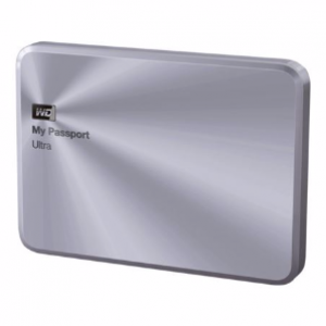 WD 2TB My Passport Ultra External Hard Drive (Silver)