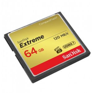 SanDisk 64GB Extreme Compact Flash Card