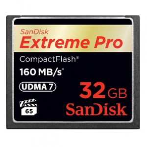 SanDisk 32GB Extreme PRO Compact Flash Card