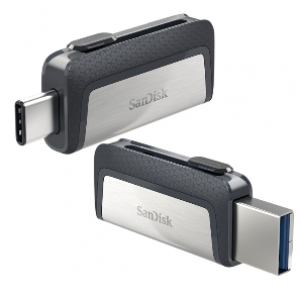 SanDisk 128GB Ultra Dual Drive Type-C Flash Drive