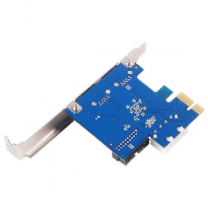 SilverStone EC04-E PCI Express to USB3.0 Ports (Internal/External) Expansion Card