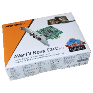 AVerMedia AVerTV Nova T2+C PCI Express TV Receiver