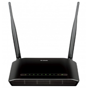 D-Link DSL-2750E N300 Wireless ADSL2+ 4-Port Wi-Fi Router