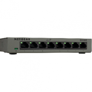 Netgear GS308 8-Port Gigabit Desktop Ethernet Switch (Metal Casing)