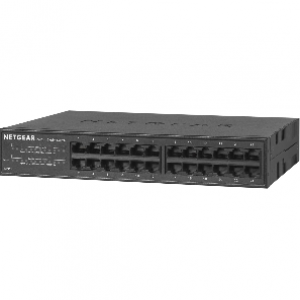 Netgear GS324 24-Port Gigabit Ethernet Switch (Metal Casing)