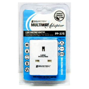 SoundTech PP-39 3 Way Multiway Plug (OEM)