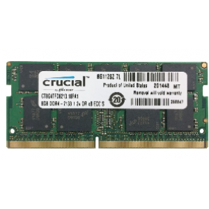 Crucial 8GB 2400Mhz CL15 1.2V DDR4 Notebook Ram