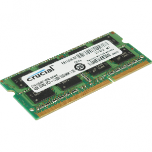 Crucial 4GB PC3 14900/1866Mhz DDR3 Notebook Ram