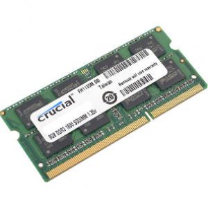 Crucial 8GB PC3 14900/1866Mhz DDR3 Notebook Ram