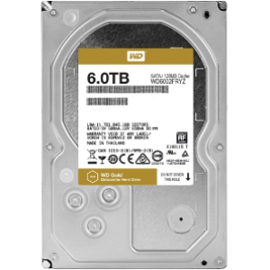 WD 6TB Gold Datacenter Hard Drive