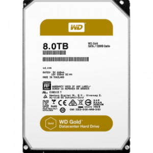 WD 8TB Gold Datacenter Hard Drive