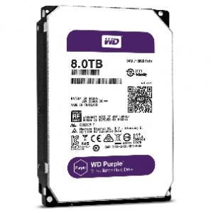 WD 8TB Purple 64MB AV-GP HDD 3.5