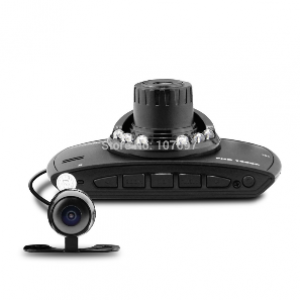 HD 1080P Front/Rear Car Dashcam