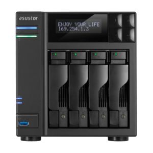Asustor AS-7004T 4-bay NAS
