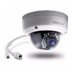 TRENDNET TV-IP321PI Outdoor PoE 1.3MP Day/Night Dome Network Camera