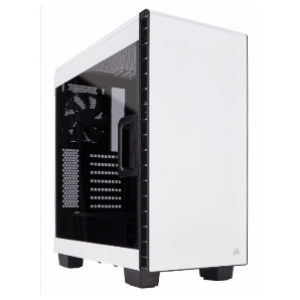 Corsair Carbide Clear 400C ATX Casing (White / CC-9011095-WW)