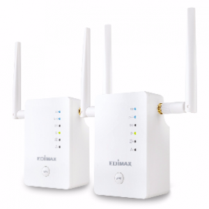 Edimax Gemini RE11 AC1200 Dual-Band Home Wi-Fi Roaming Kit, Wi-Fi Extender / Access Point / Wi-Fi Bridge