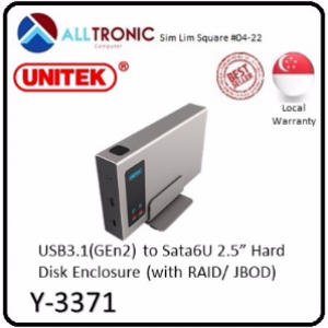 Unitek USB3.1 to Sata6U 2.5