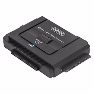 Unitek USB3.0 to IDE+SATA converter with on/off Switch