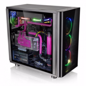 Thermaltake View 31 Tempered Glass RGB Edition Mid Tower Chassis (CA-1H8-00M1WN-01)