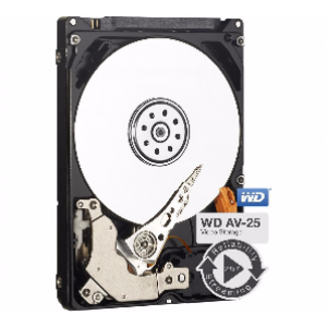 WD 500GB AV-25 5400 RPM 16MB Cache SATA 3.0Gb/s 2.5