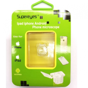 Supereyes Magnifier/Microscope for Iphone, Ipad,Samsung and any other Android Devices Model: S001
