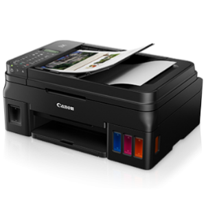 Canon PIXMA G4010 Refillable Ink Tank Wireless All-In-One with Fax for High Volume Printing