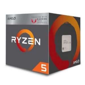 AMD RYZEN 5 2400G Processor (AMD-YD2400C5FBBOX)