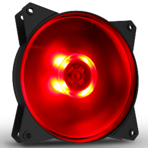 Cooler Master Masterfan Lite 120 Red LED Case Fan (R4-C1DS-12FR-R1)