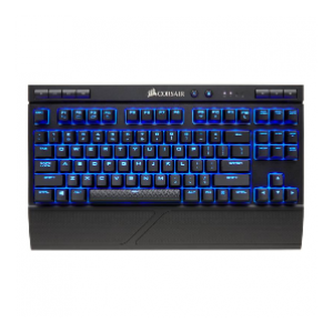 Corsair K63 Wireless Mechanical Gaming Keyboard — Blue LED — Cherry MX Red (CS-CH-9145030-NA)
