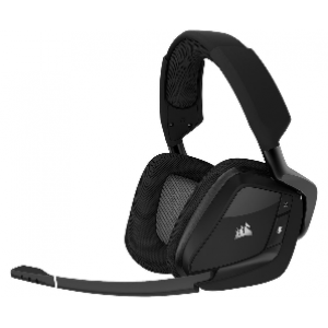 Corsair VOID PRO RGB Wireless Premium Gaming Headset with Dolby® Headphone 7.1 — Carbon (AP) (CA-9011152-AP)