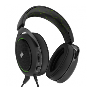 Corsair HS50 Stereo Gaming Headset — Green (AP) - 0.56 KG (CA-9011171-AP)