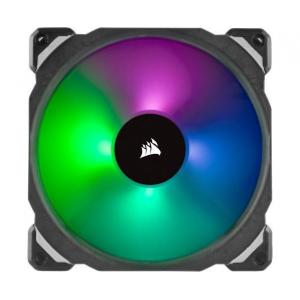 Corsair ML140 PRO RGB LED 140MM PWM Premium Magnetic Levitation Fan - Twin Pack (CS-CO-9050078-WW)