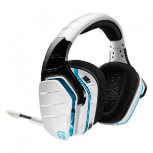 Logitech G933 Artemis Spectrum - Snow Wireless 7.1 Gaming Headset (981-000622)