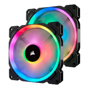 Corsair LL140 RGB 140mm Dual Light Loop RGB LED PWM - Twin Pack (CO-9050074-WW)