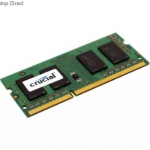 Crucial (CT51264BF160BJ) 4GB DDR3L-1600Mhz SODIMM CL-11 Laptop Ram