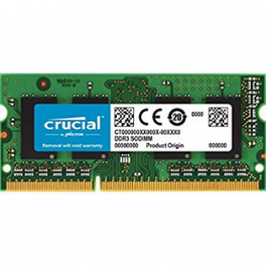 Crucial (CT8G3S186DM) 8GB DDR3L-1866Mhz SODIMM Memory for Mac