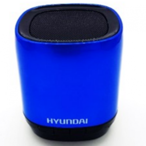 Hyundai i80 Bluetooth Portable Speaker  (Available color: Blue,Red,Silver)