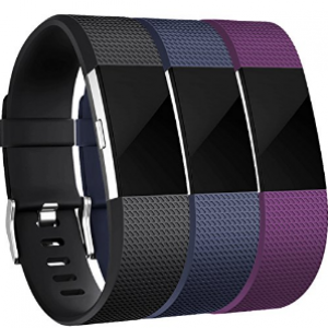 fitbit Charge 2 black/blue/plum