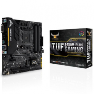 Asus TUF B450M-Plus Gaming AMD B450 mATX Gaming Motherboard