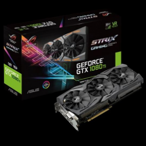 Asus ROG Strix GeForce GTX1080Ti 11GB GDDR5X Graphics Card (ROG-STRIX-GTX1080TI-11G-GAMING)