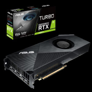 Asus Turbo GeForce RTX2080Ti 11GB GDDR6 Graphics Card (TURBO-RTX2080TI-11G)