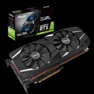 Asus Dual GeForce RTX2080Ti Advanced Edition 11GB GDDR6 Graphics Card (DUAL-RTX2080TI-A11G)