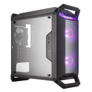 Cooler Master Masterbox Q300P RGB Micro ATX Desktop Chassis Black with Side Window (MCB-Q300P-KANN-S02)