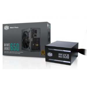 Cooler Master MWE 650W Fully Modular 80+ Gold Power Supply (MPY-6501-AFAAG-UK)