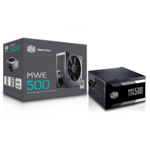 Cooler Master MWE 550W Fully Modular 80+ Gold Power Supply (MPY-5501-AFAAG-UK)